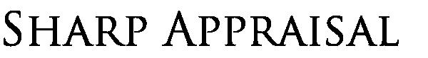 Sharp Real Estate Appraisal